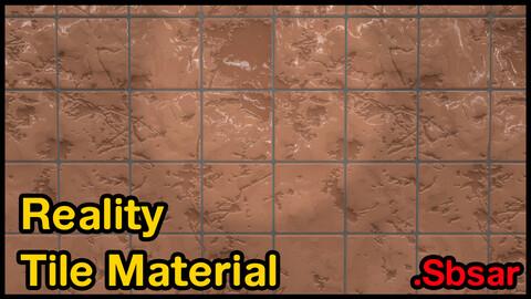 Reality Tile Material / v12 / .sbsar