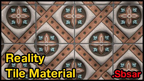 Reality Tile Material / v13 / .sbsar