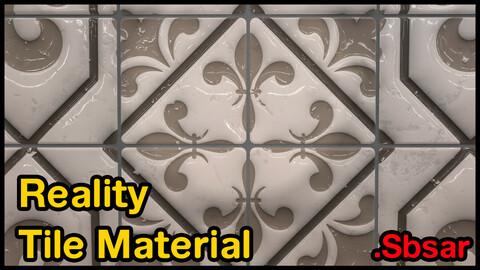 Reality Tile Material / v14 / .sbsar