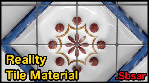 Reality Tile Material / v15 / .sbsar