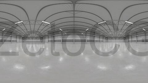 HDRI - Warehouse Interior 9