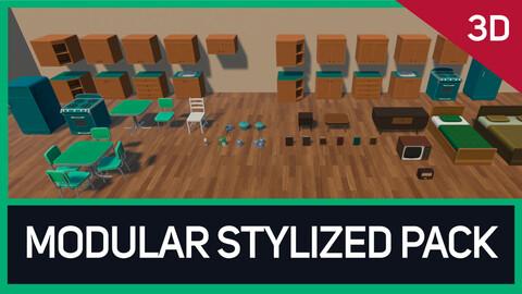 Modular Stylized Pack