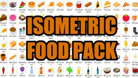 Isometric Food Pack