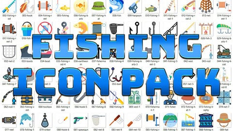 Fishing Icon Pack