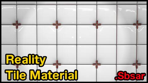 Reality Tile Material / v17 / .sbsar