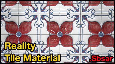 Reality Tile Material / v18 / .sbsar