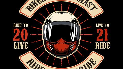 bikers enthusiast artwork