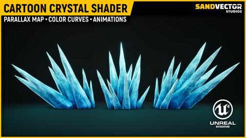Cartoon Crystal Shader - Unreal Engine 4