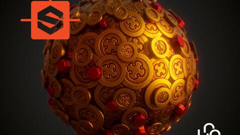Substance Designer Tutorial - Stylized Treasure Coins