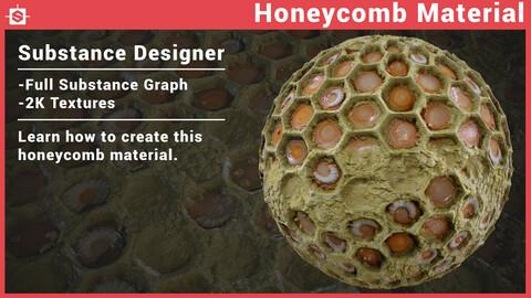 Honeycomb Material in Substance Designer