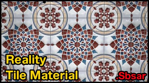 Reality Tile Material / v19 / .sbsar
