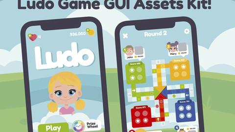 Ludo Game GUI Assets Kit