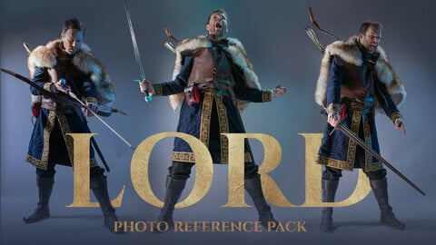 Lord Photo Reference Pack for artists