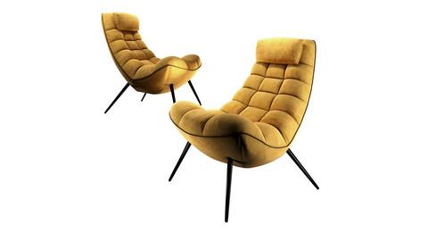 Sofa Form Armchair Lulea