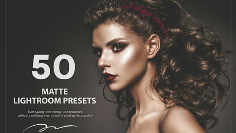 50 Matte Lightroom Presets