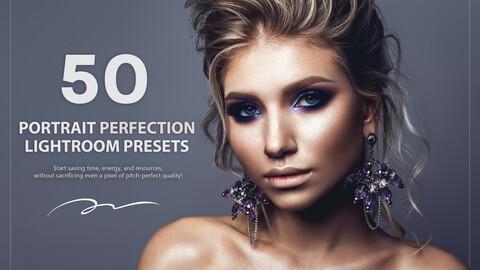 50 Portrait Perfection Lightroom Presets
