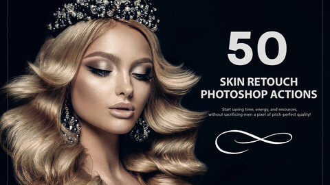 50 Skin Retouch Photoshop Actions