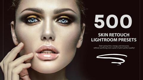 500 Skin Retouch Lightroom Presets