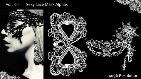 Vol. 6 - Sexy Lace Mask - Alphas