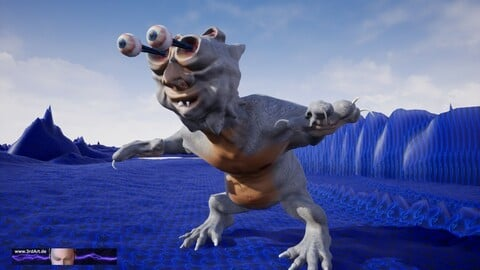 JAY - avatar critter for Unreal and else