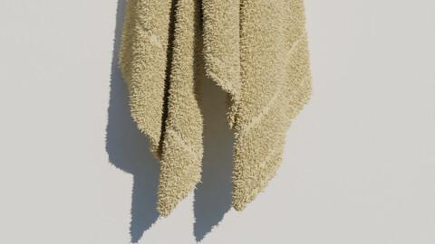 Towel - High Quality Model - High Poly - Bathroom 3D model
