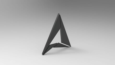 Triangular Logo model