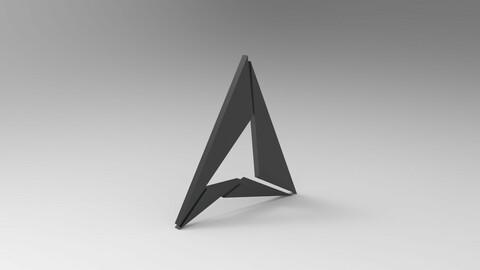 Triangular Logo model
