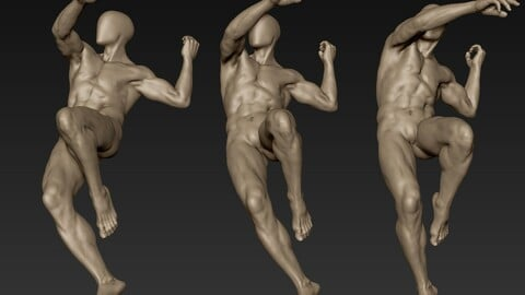 Male Full Body Sculpt Pose 12
