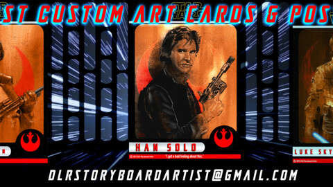 Heroes of the Rebel Alliance -  Collectable Art Cards