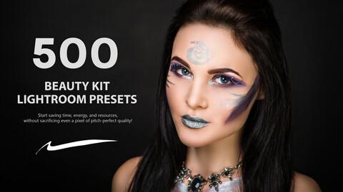 500 Beauty Kit Lightroom Presets