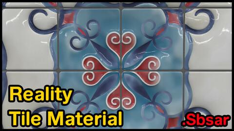 Reality Tile Material / v24 / .sbsar