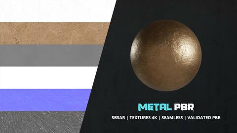 Textures Scratched Metal 4k Pbr - 010