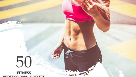 50 Fitness Lightroom Presets