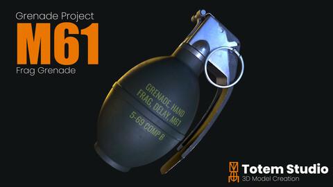 M61 Frag Grenade