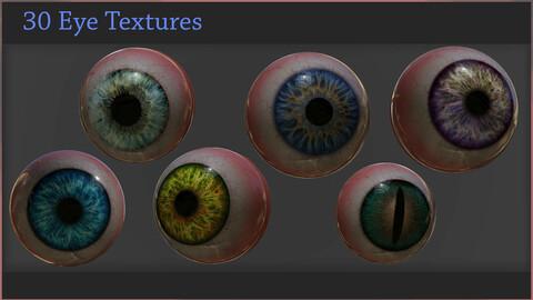 30 Eye Textures