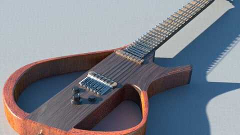 Eletric Guitar Bodyless Design