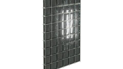 Glass Wall 3d model