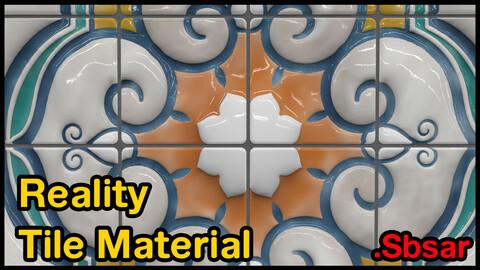 Reality Tile Material / v25 / .sbsar