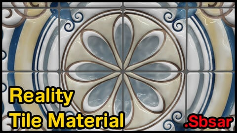 Reality Tile Material / v26 / .sbsar