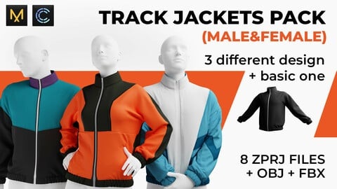 Track jackets pack (male&female)