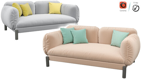 Tarantino 2 Seater Sofa