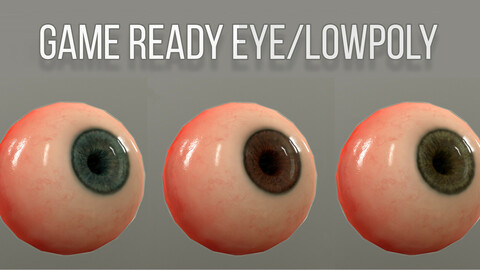 Game Ready/Lowpoly Eyeball
