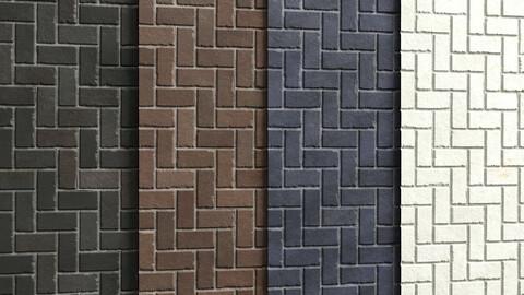 Materials 5- Brick Tiles PBR