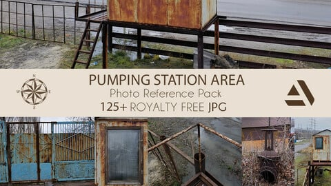 Photo Reference Pack: WATER PUMPING STATION AREA