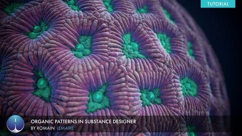 Organic Patterns in Substance Designer | Romain Lemaire