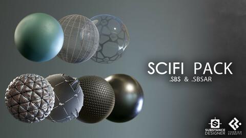 Sci-Fi Material Pack