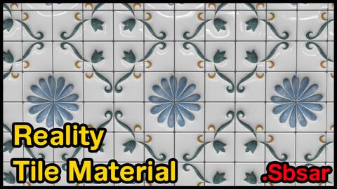 Reality Tile Material / v30 / .sbsar
