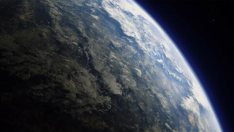 Earth Atmosphere Gradient