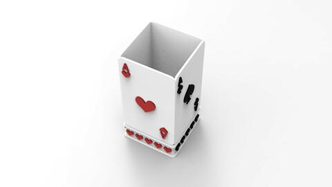 Card Box Pencil/Pen Container