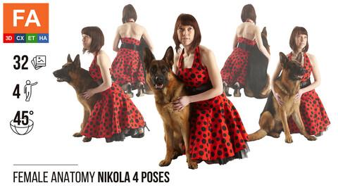 Female Anatomy | Nikola 4 Various Poses | 32 Photos